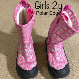 Other - Girls 2y Polar Edge Snow Boots